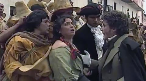 Mujeres de la Independencia de Colombia - Fotograma capítulo Florero de Llorente - Crónicas de una generación trágica