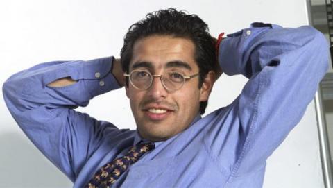 Foto: Archivo El Tiempo - Jaime Garzón, periodista y humorista colombiano.