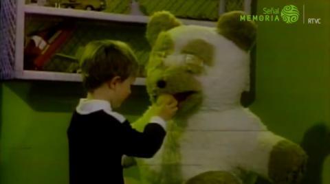 Niño en comercial Buñuelos Sumaíz años 80