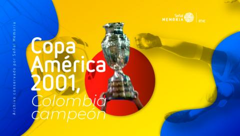 gráfica Copa América 2001