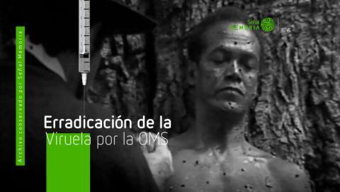 viruela en Colombia, erradicación