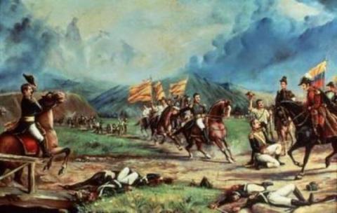 Batalla de Boyacá 2