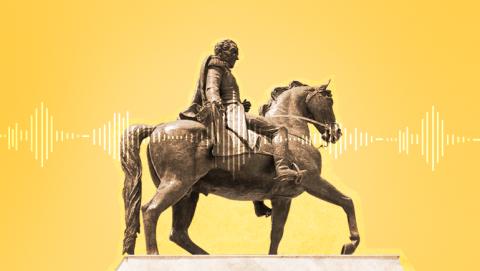 Libertador a caballo