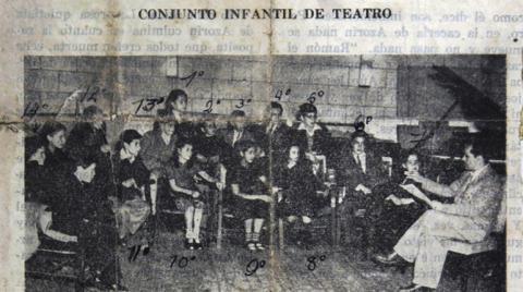 Esta imagen fue hallada en el Boletín de la Radiodifusora Nacional de Colombia en diciembre de 1948