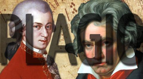 Beethoven plagió a Mozart