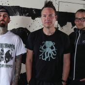 """Tom DeLonge abandonó Blink-182 en 2015 para dedicarse a """"buscar OVNIS"""". En su lugar, Matt Skiba (izq.) Foto tomada de Xgames.com"""