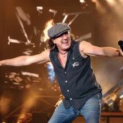 Brian Johnson tiene 68 años y es cantante de AC/DC desde 1980.