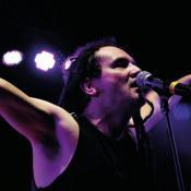 Dilson Díaz, cantante de La Pestilencia.