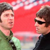 Liam y Noel Gallagher.