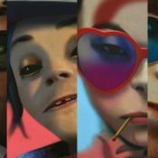 Russel, Murdoc, Noodles y 2D son los personajes que componen Gorillaz.