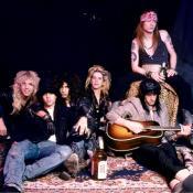 Guns N' Roses en 1987. Foto de Robert John.
