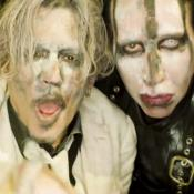 Johnny Depp protagoniza el nuevo vídeo de Marilyn Manson: SAY10