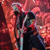 Metallica se presentó por cuarta vez en Colombia el 1 de noviembre de 2016.