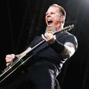 Jame Hetfield de 53 años, líder de Metallica.