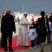 Papa Francisco en Bogotá. Foto por: Sandro Sánchez.