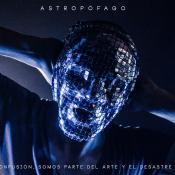 Arte de 'Astropófago', el primer disco de Piel Camaleón. Imagen tomada del Facebook de la banda