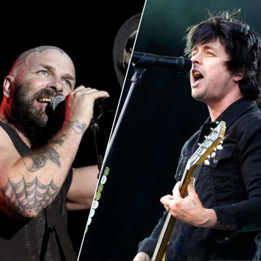 Tim Armstrong y Billie Joe Armstrong son The Armstrongs.