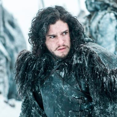 Jon Snow interpretado por Kit Harington.