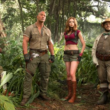 Jumanji 2 o Jumanji Welcome to the Jungle cuenta con las actuaciones de Dwayne Johnson 'The Rock' y Jack Black.