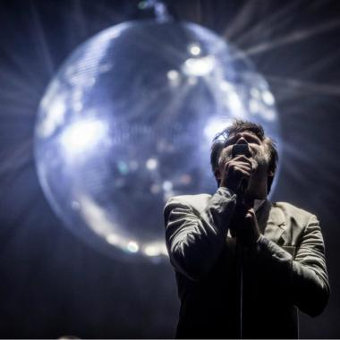 James Murphy, líder de LCD Soundsystem.