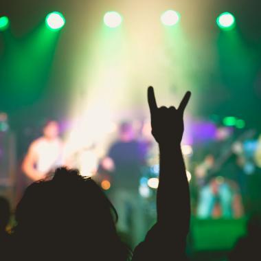 Concierto de Metal. Imagen tomada de www.helsinkisummerschool.fi