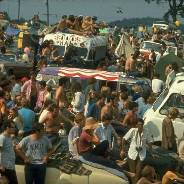 Así fue el primer Woodstock de la historia
