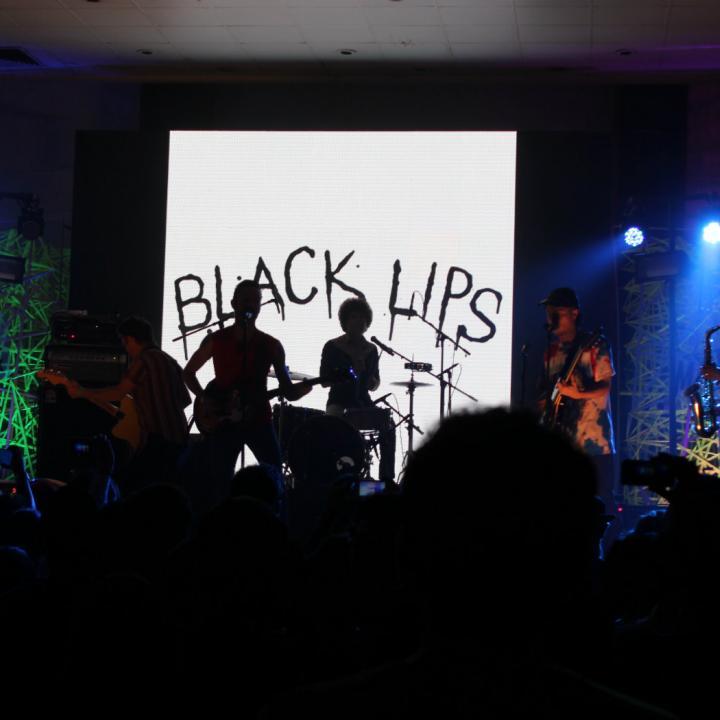 Black Lips y Television. Cabezas del carte en CDMX