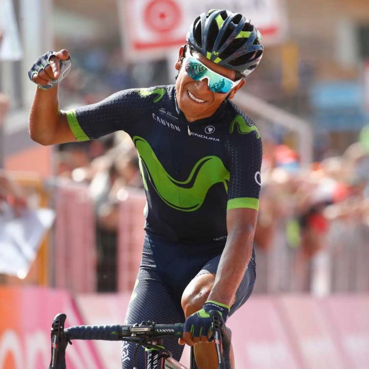 Nairo Quintana en el Giro de Italia 2017. Foto de Colprensa.