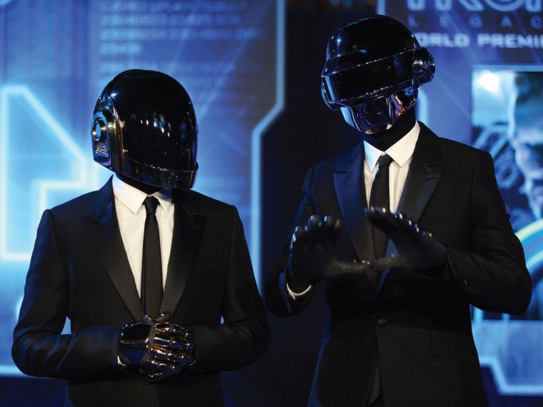 Daft Punk son Thomas Bangalter y Guy-Manuel de Homem-Christo.