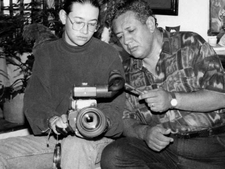 Héctor Mora Jr. y Héctor Mora padre. Foto: Colprensa.