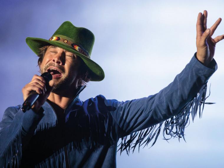 Jay Kay en vivo en 2013. Foto tomada de Getty Images.