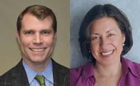 Doug Olson, MD & Miriam Komaromy, MD Headshot