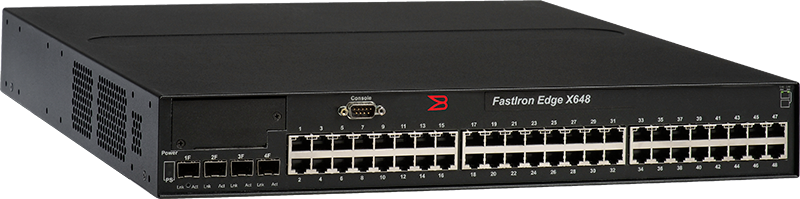 Brocade FastIron Edge X648 Switch
