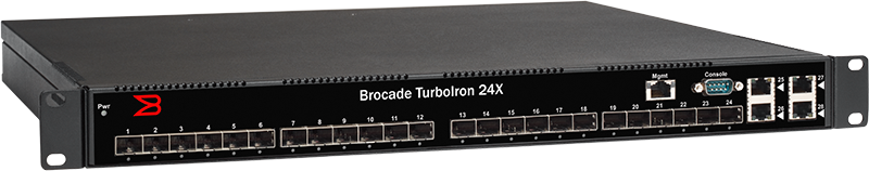 Brocade TurboIron 24X Series Switches | Products | Ruckus Wireless