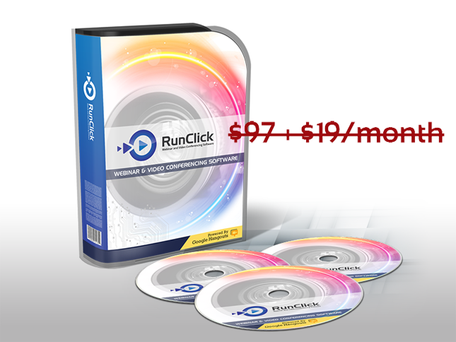 RunClick Webinar Software With No Monthly Fees