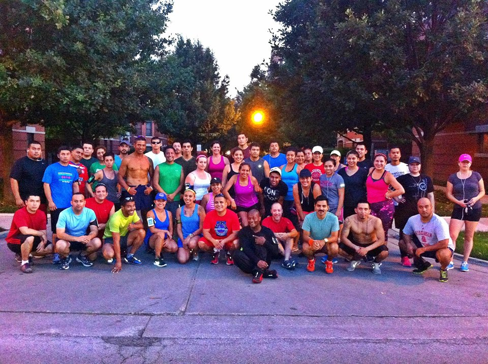 The Warriors Running Group Chicago