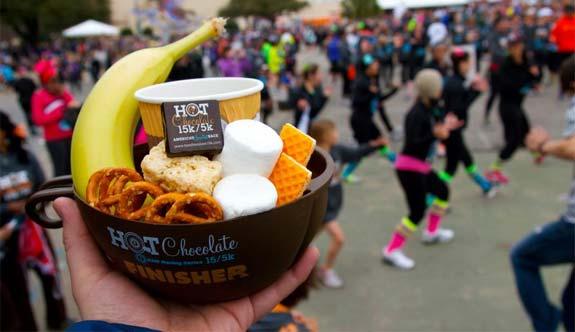 Hot chocolate run Seattle