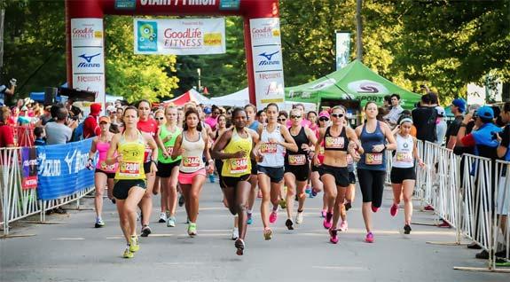 Toronto Women's half marathon