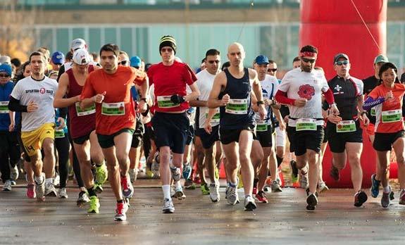 Downsview half marathon