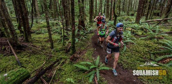 Squamish 50 trail run