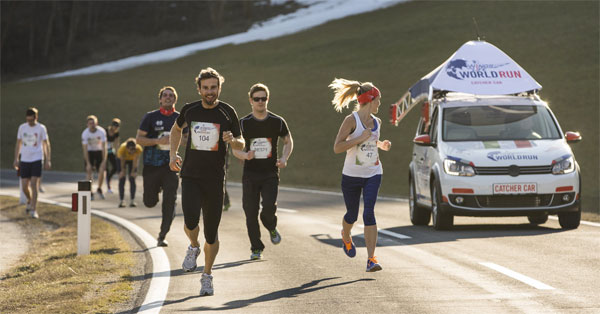 Red Bull wings for life world run
