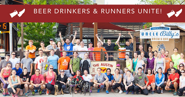 Austin Beer Run club photo