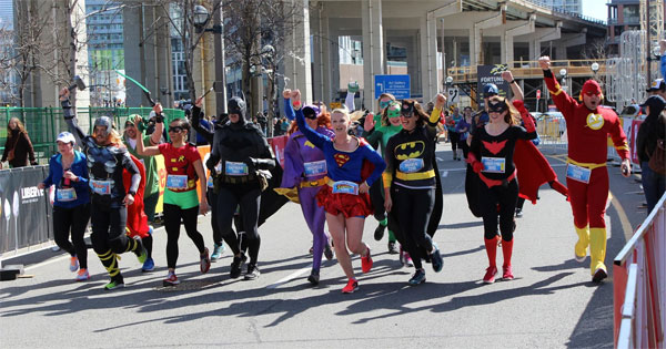 Justice League Runners Toronto