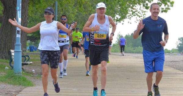 Toronto beaches Jazz 5k, 10k, half marathon