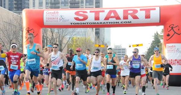 GoodLife Toronto Marathon
