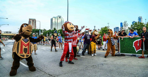 BTN Big 10k run Chicago