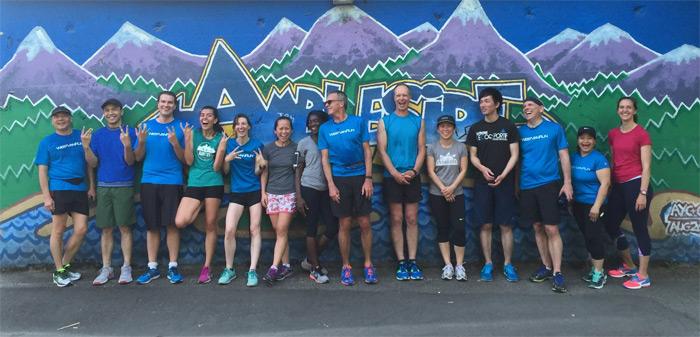 West Van run crew