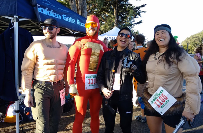Golden gate runners