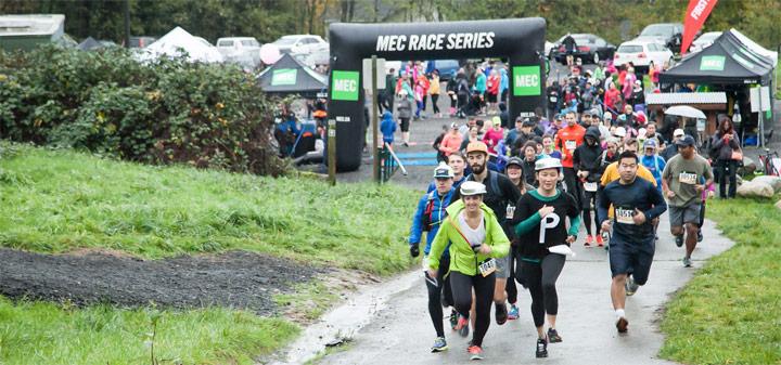 MEC Vancouver trail race series