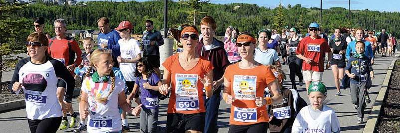 Footstock running festival Cochrane